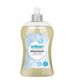 Liquide vaisselle peaux sensibles écologique sans parfum - 500ml - Sodasan