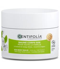 Baume corps SOS pour toute la famille BIO ginkgo biloba - 200ml - Centifolia