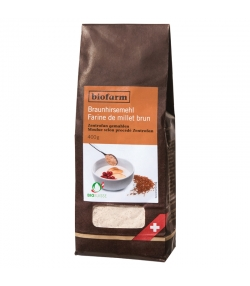 Farine de millet brun BIO - 400g - Biofarm