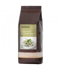Riz complet long grain BIO - 1kg - Biofarm