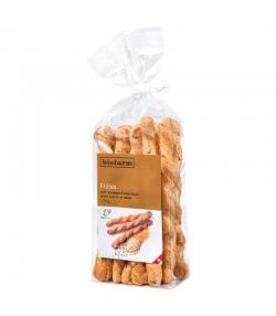 Flûtes avec maïs et carvi BIO - 125g - Biofarm