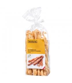 Flûtes avec graines de moutarde BIO - 125g - Biofarm