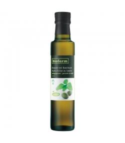 Huile d'olive au basilic BIO - 250ml - Biofarm