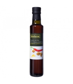 Huile d'olive au piment rouge BIO - 250ml - Biofarm