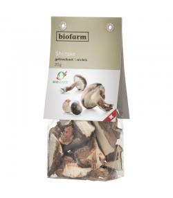 BIO-Shiitake-Pilze getrocknet - 20g - Biofarm