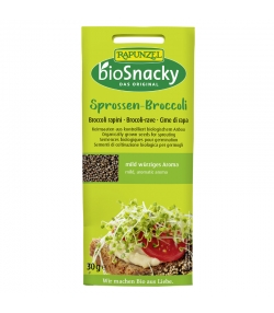 Graines à germer de brocoli-rave BIO - 30g - Rapunzel bioSnacky