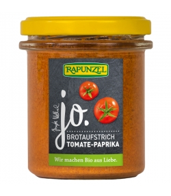 BIO-Brotaufstrich Tomate & Paprika - 140g - Rapunzel