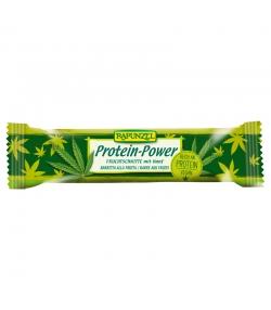 Barre énergétique au chanvre protein-power BIO - 30g - Rapunzel