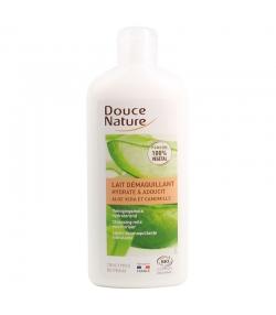 Lait démaquillant hydratant & adoucissant BIO aloe vera & camomille - 250ml - Douce Nature