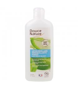 BIO-Mizellen-Lotion Make-up Entferner & feuchtigkeitsspendend Aloe Vera & Kornblume - 250ml - Douce Nature