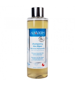 Shampooing des Alpes BIO verveine & hamamélis - 200ml - Alpaderm