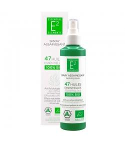 Spray assainissant aux 47 huiles essentielles BIO - 100ml - E2 Essential Elements