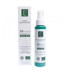 BIO-Atemspray mit 28 ätherischen Ölen - 100ml - E2 Essential Elements