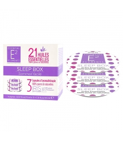 Kapseln Aromatherapie Sleep Box mit 21 ätherischen Ölen - 3 Stück - E2 Essential Elements