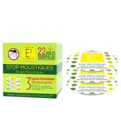 Capsules d'aromathérapie Stop moustiques Box aux 22 huiles essentielles - 3 pièces - E2 Essential Elements