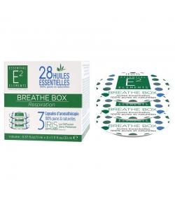 Capsules d'aromathérapie Breathe Box aux 28 huiles essentielles - 3 pièces - E2 Essential Elements
