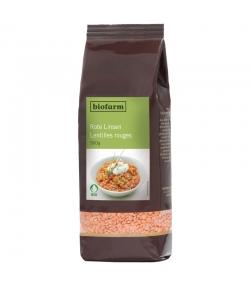 Lentilles rouges BIO - 500g - Biofarm