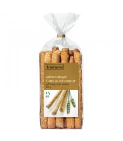 Flûtes au blé complet & sésame BIO - 135g - Biofarm