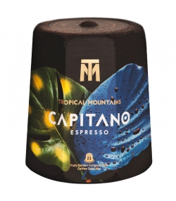 BIO-Kaffeekapsel Capitano Espresso - 21 Stück - Tropical Mountains