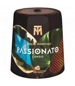 BIO-Kaffeekapsel Passionato Lungo - 21 Stück - Tropical Mountains