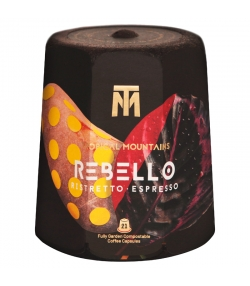 Capsules de café Rebello Ristretto Espresso BIO - 21 pièces - Tropical Mountains