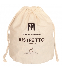 BIO-Kaffeekapsel Rebello Ristretto Espresso - 100 Stück - Tropical Mountains