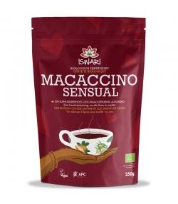 BIO-Instantgetränk Macaccino Sensual Kakao, Maca & Kokoszucker - 250g - Iswari