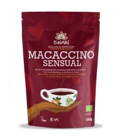 Boisson instantanée Macaccino Sensual cacao, maca & sucre de coco BIO - 250g - Iswari