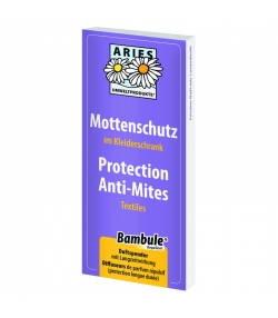 Protection anti-mites textiles naturelle lavandin & neem - 2 pièces - Aries