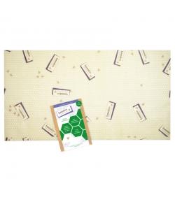 Tissu à la cire d'abeille XL - 1 pièce - Beeskin