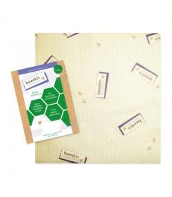 Tissu à la cire d'abeille Large - 1 pièce - Beeskin