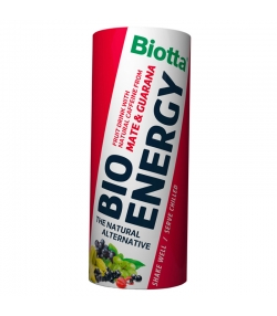 BIO-Fruchtgetränk mit Koffein - 250ml - Biotta Bio Energy