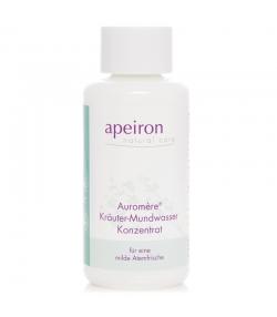 Bain de bouche naturel aux plantes - 100ml - Apeiron Auromère