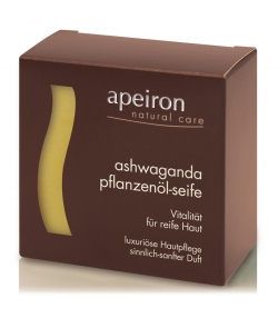 Natürliche Pflanzenöl-Seife Ashwaganda - 100g - Apeiron