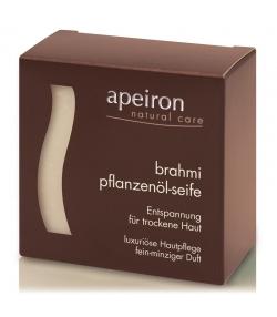 Natürliche Pflanzenöl-Seife Brahmi - 100g - Apeiron