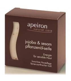 Natürliche Pflanzenöl-Seife Jojoba & Sesam - 100g - Apeiron
