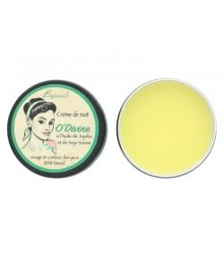 Crème de nuit & contour des yeux naturelle O'Divine soja & jojoba - 30ml - Bionessens