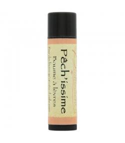 Baume à lèvres coloré cuivré pailleté naturel Pêch'issime abricot - 5ml - Bionessens