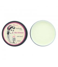 Déodorant crème naturel senteur citronnée Nuit d'ivresse argile blanche & coco - 30g - Bionessens