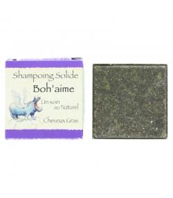 Natürliches festes Shampoo Boh'aime grüne Toneerde, Brennnessel & Rosskastanie - 70g - Bionessens