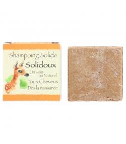 Shampooing solide naturel Solidoux argile rose, calendula & beurre de karité - 70g - Bionessens