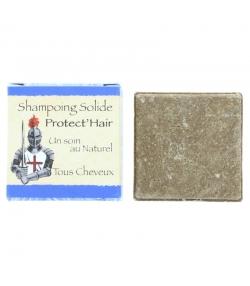 Natürliches festes Shampoo Protect'Hair Rhassoul, Soja & Kokos - 70g - Bionessens