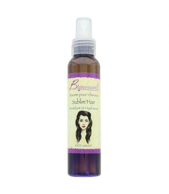 Baume démêlant naturel Sublim'Hair ricin, lemongrass & santal - 100ml - Bionessens