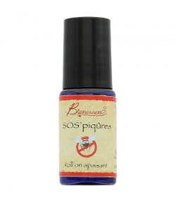 Roll-on apaisant naturel SOS'piqûres lavande & camomille - 5ml - Bionessens