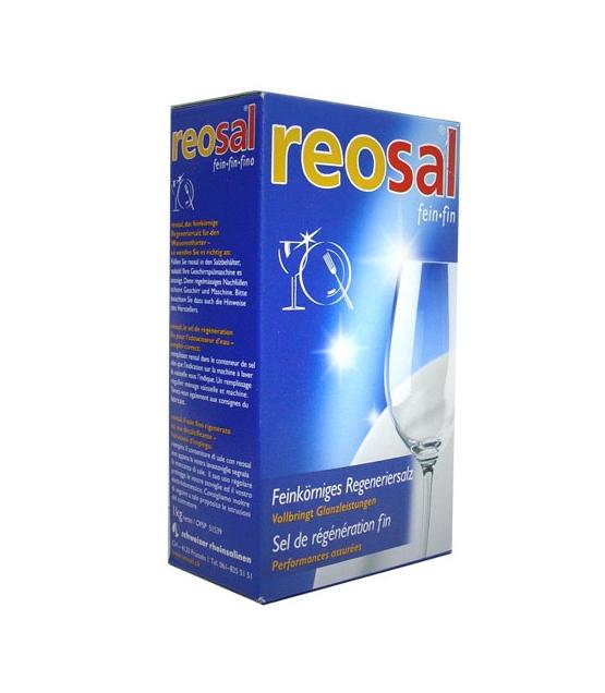 Feinkörniges Regeneriersalz - 1kg - Reosal