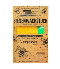 Bienenwachstuch Small - 2 Stück - RapNika