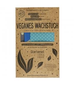 Veganes Wachstuch Starterset (Small, Medium & Large) - 3 Stück - RapNika