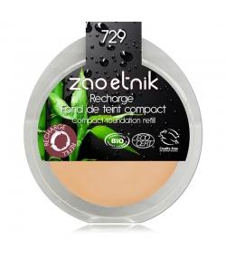 Recharge Fond de teint compact BIO N°729 Ivoire rose - 6g - Zao Make-up