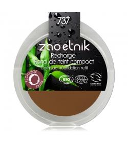 Recharge Fond de teint compact BIO N°737 Bronze - 6g - Zao Make-up