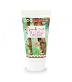 Recharge Fond de teint liquide BIO N°701 Ivoire - 30ml - Zao Make-up